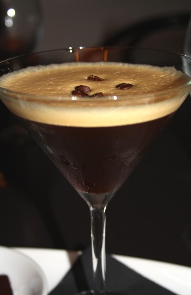 espresso hazelnut martini