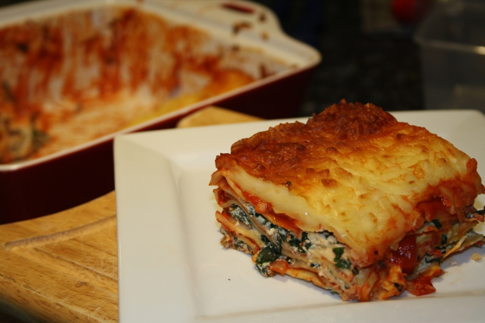 silverbeet and ricotta lasagne