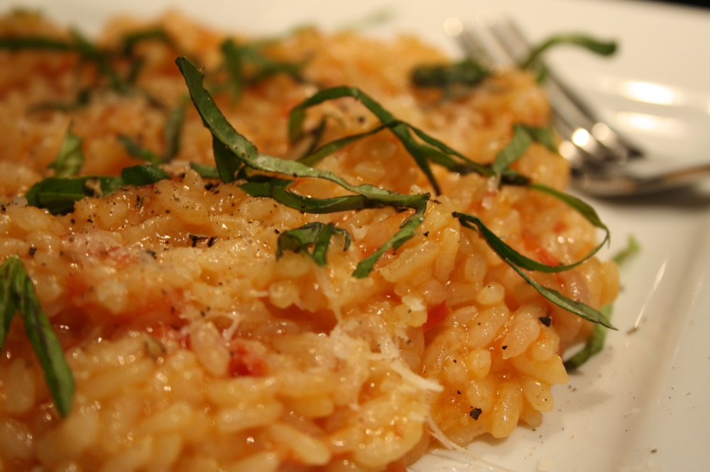 double tomato risotto image