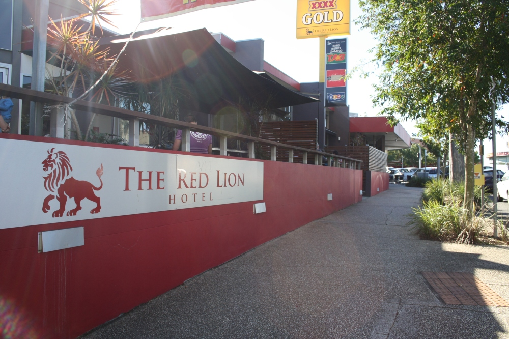 red lion image