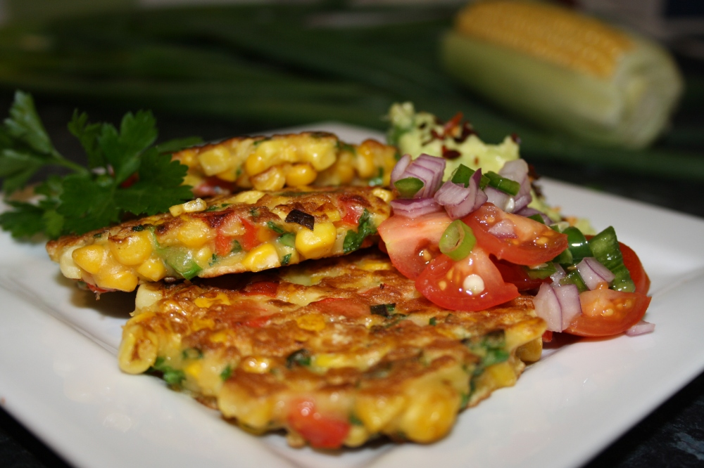 corn fritters image