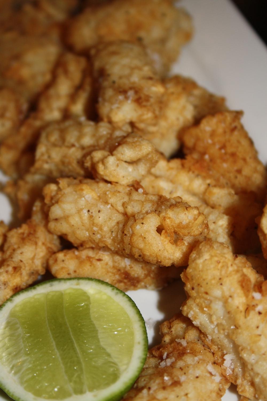 salt and szechuan pepper squid