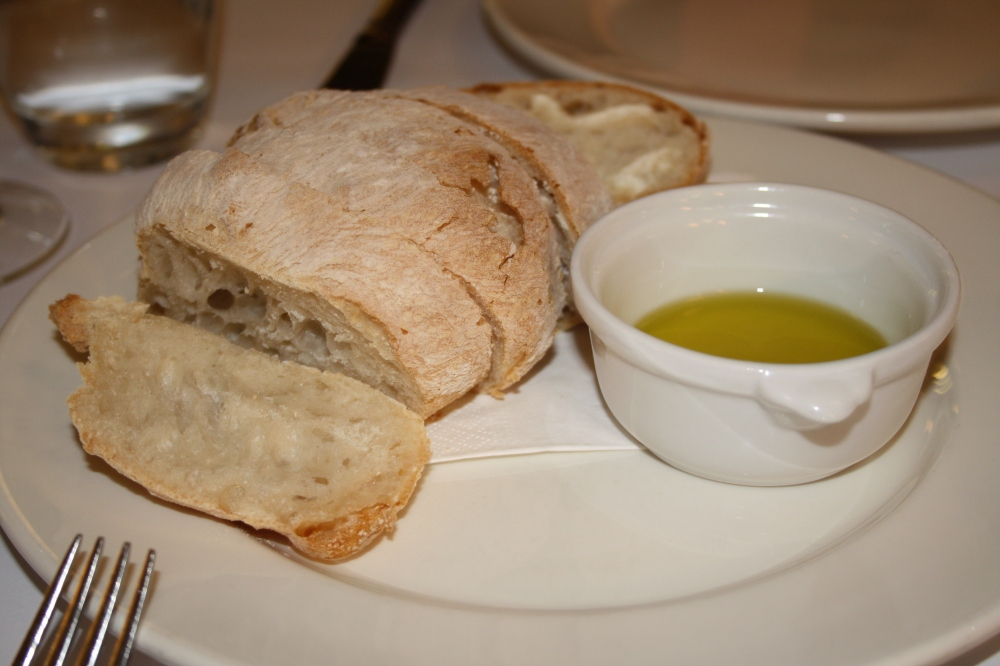 bread and oil tartufo