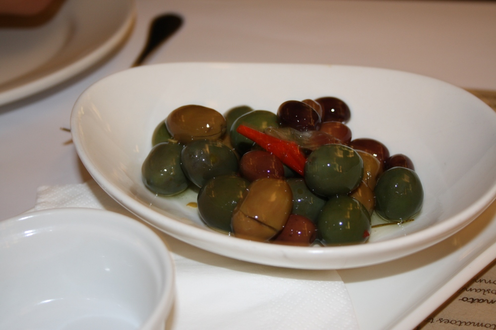 marinated olives tartufo