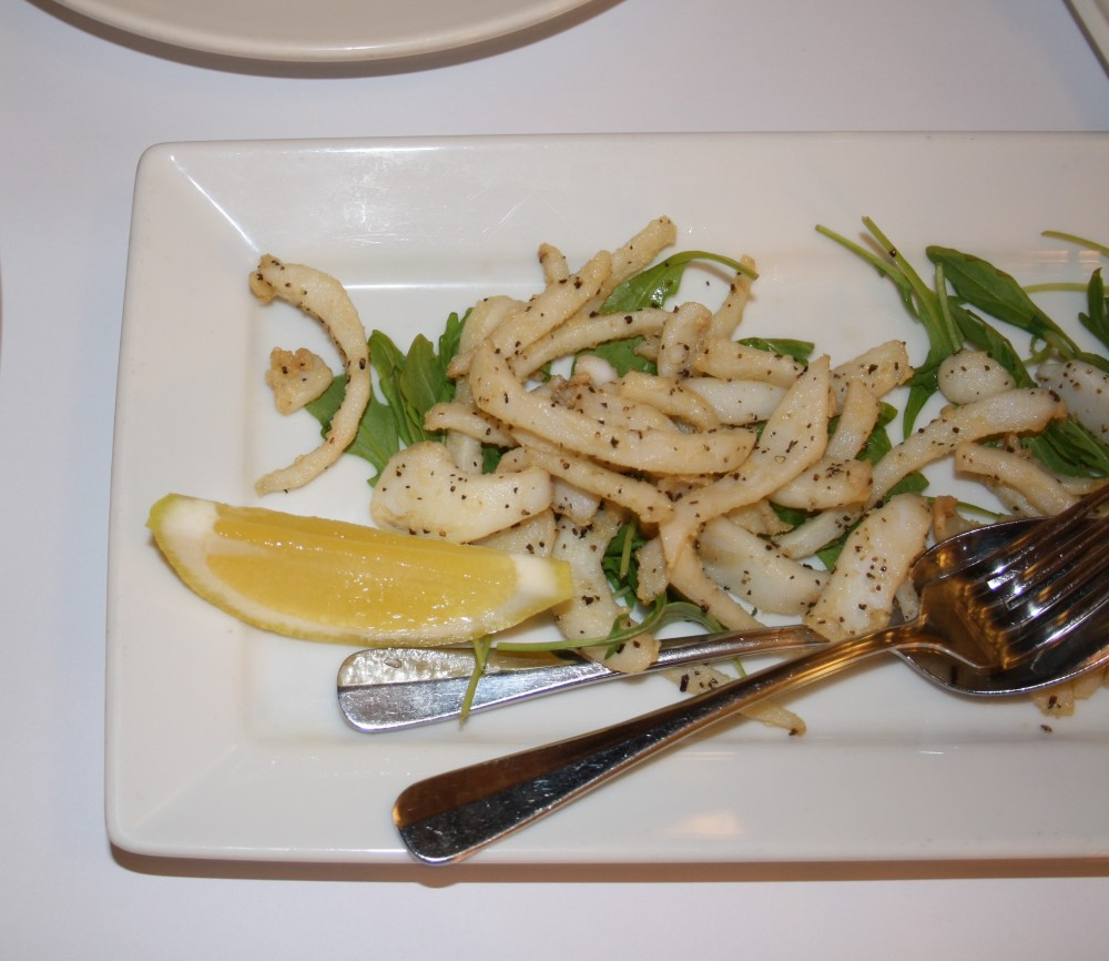 calamari tartufo