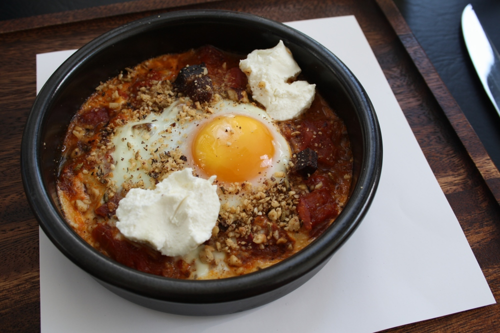 bistro one eleven baked eggs