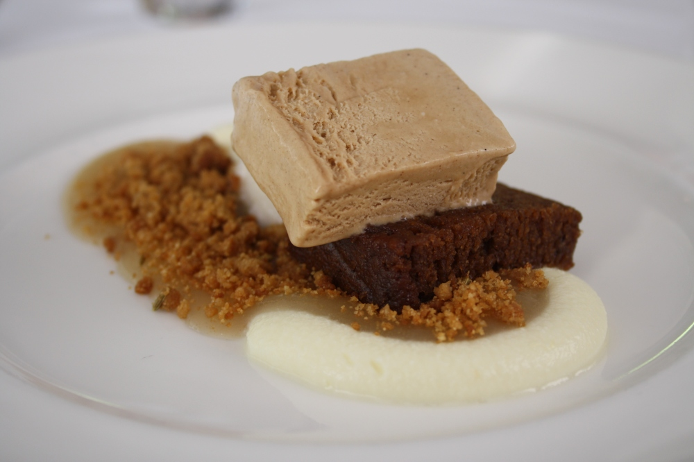 coffee rum and raisin dessert