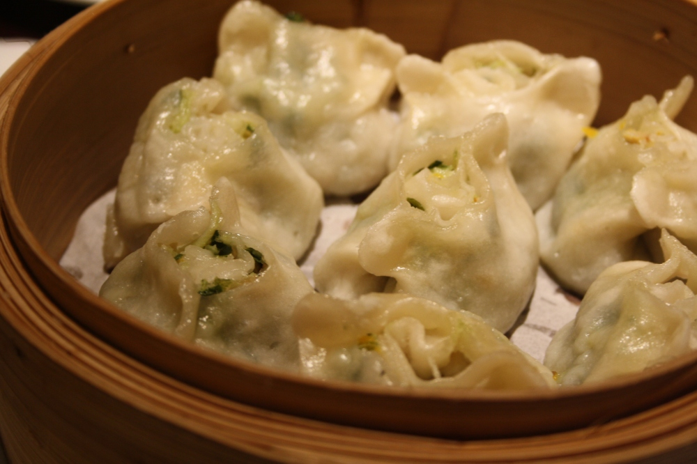 vegetarian dumplings new shanghai